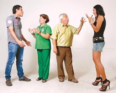 Discutir con mi pareja por culpa de mis suegros