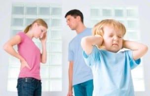 Errores de padres separados 