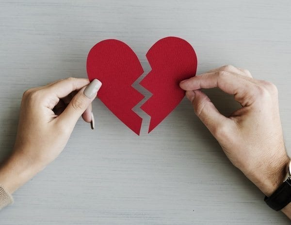 El perdón en pareja del procedimiento de separación matrimonial